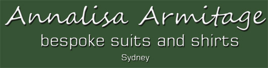 Annalisa Armitage Bespoke Suits and Shirts Sydney